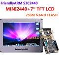 Free Shipping , FriendlyARM Development Board ARM Kit MINI2440 +7 inch Touch Screen LCD,64M RAM+256M Flash,S3C2440 ARM9 2440