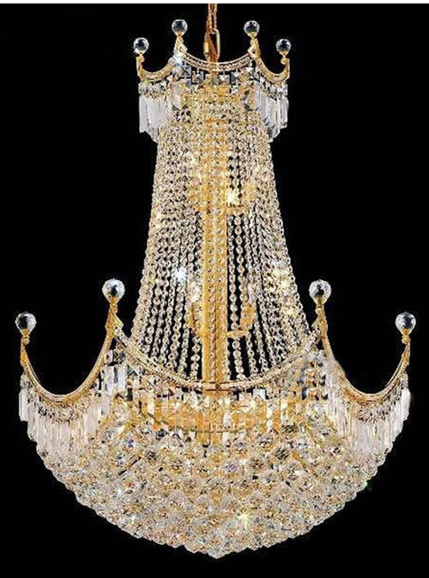 Phube lighting french empire gold crystal chandelier chrome phube lighting french empire gold crystal chandelier chrome chandeliers lighting modern chandeliers lightfree shipping aloadofball Gallery