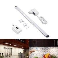 50 CM LED Interruptor De Barrido Barrido Mano de Movimiento Sensor de Luz de La Noche de La Lámpara Gabinete de Cocina Armario de Iluminación Blanca Cálida