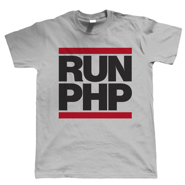 Runer PHP, Mens Coder Web Developer T Shirt Animal Fashion Men T