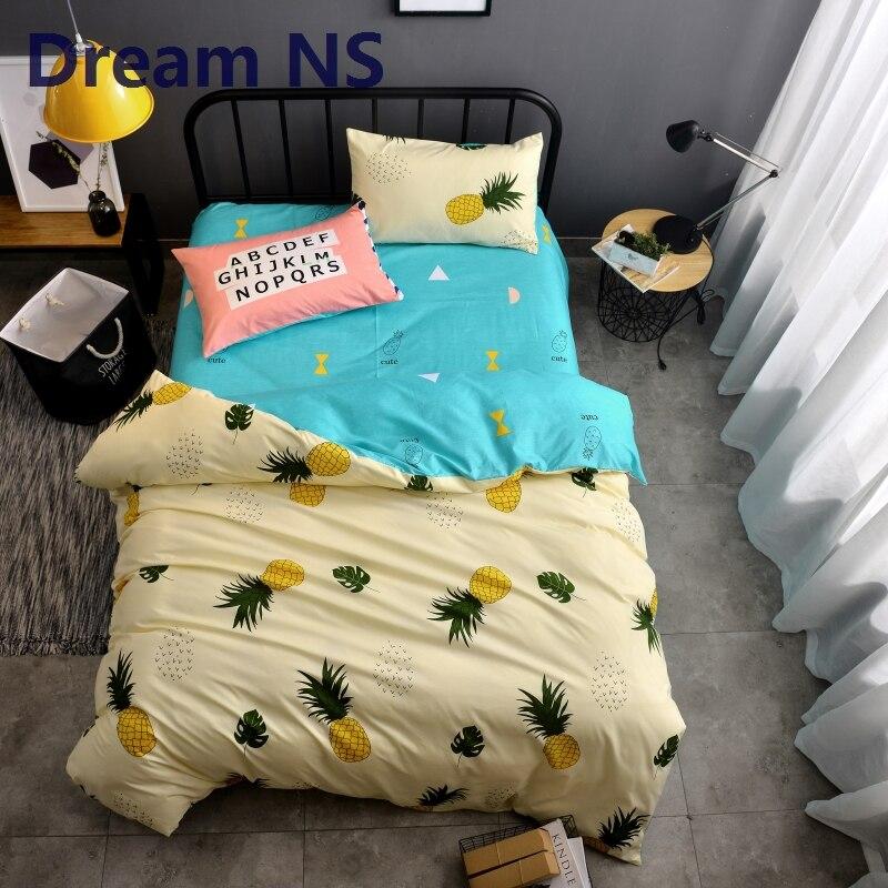 Dream NS Pineapple Duvet Cover Set Vivid Fruit Bedding Sets Housse ...