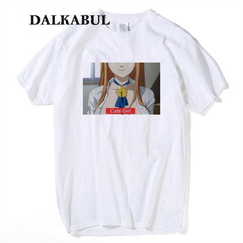 1a810586 Ahegao Print T Shirt Men Women Harajuku Face Red Women Cartoon T Shirts  Funny Shy Girl