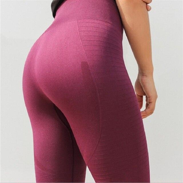 Women Yoga Pants Woman Tight Gym Leggings Fitness Leggings For Women Fitness Sports Seamless Leggings High Elastic Sports Wear