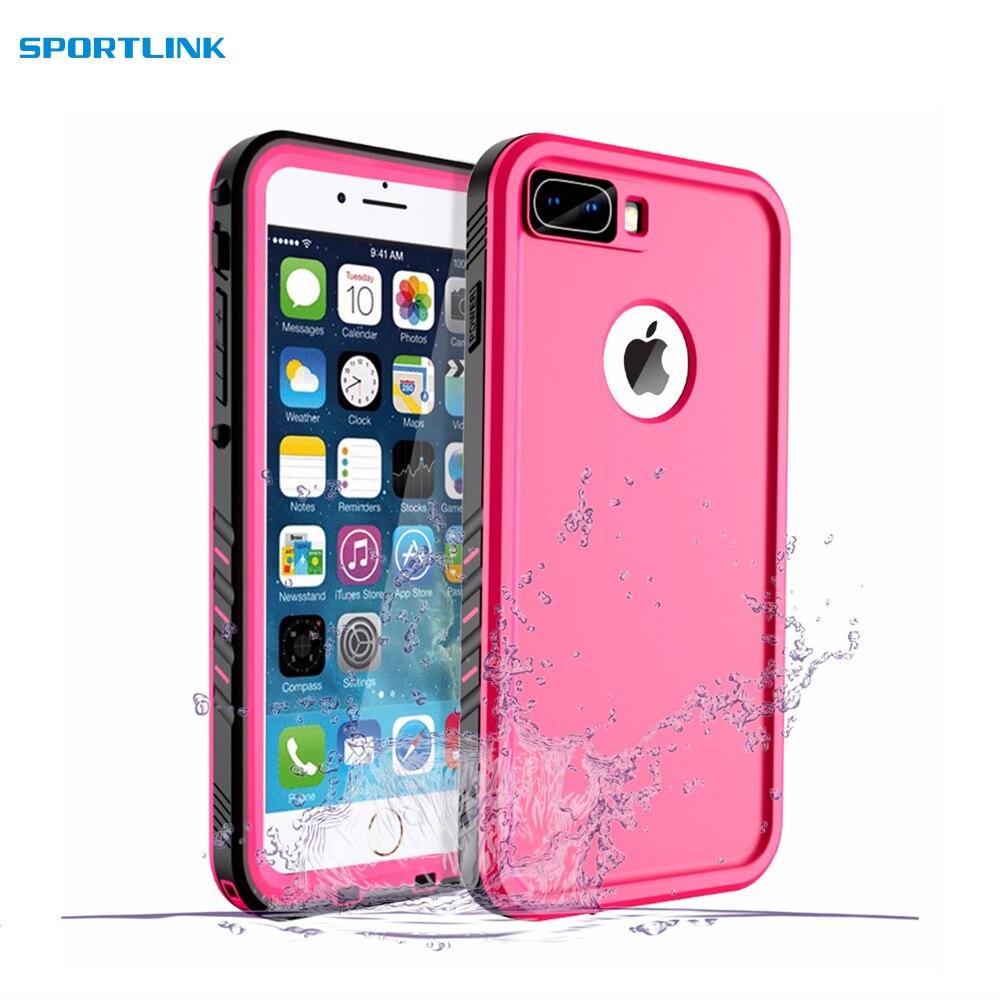 Waterproof case for iPhone 8 Plus 7 Plus Shockproof Full