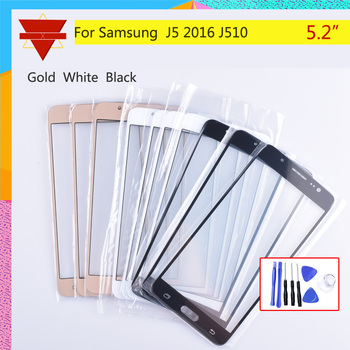 For Samsung Galaxy J5 2016 J510 J510FN J510F J510G J510Y J510M SM-J510F Touch Screen Front Glass Panel TouchScreen LCD Outer image
