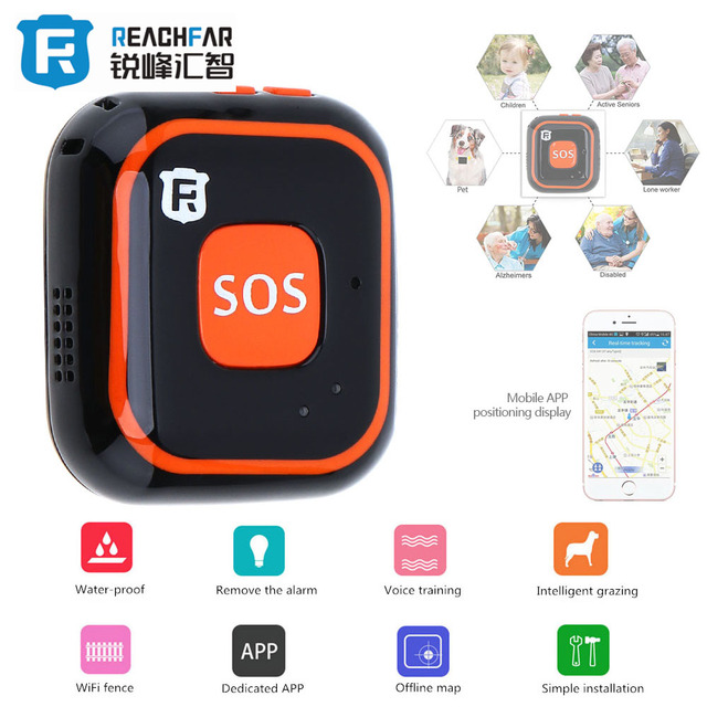 US $60 34 |Mini WiFi GPS GSM LBS AGPS Tracker Locator Class 12 TCP/IP SOS  for Pet Dog Kids Children Personal Web APP Tracking Two way Talk-in GPS