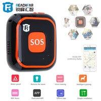 Mini WiFi GPS LBS GSM AGPS Tracker Localisateur Classe 12 TCP/IP SOS pour Pet Chien Enfants Enfants Personnelles Web APP Suivi Deux-façon parler