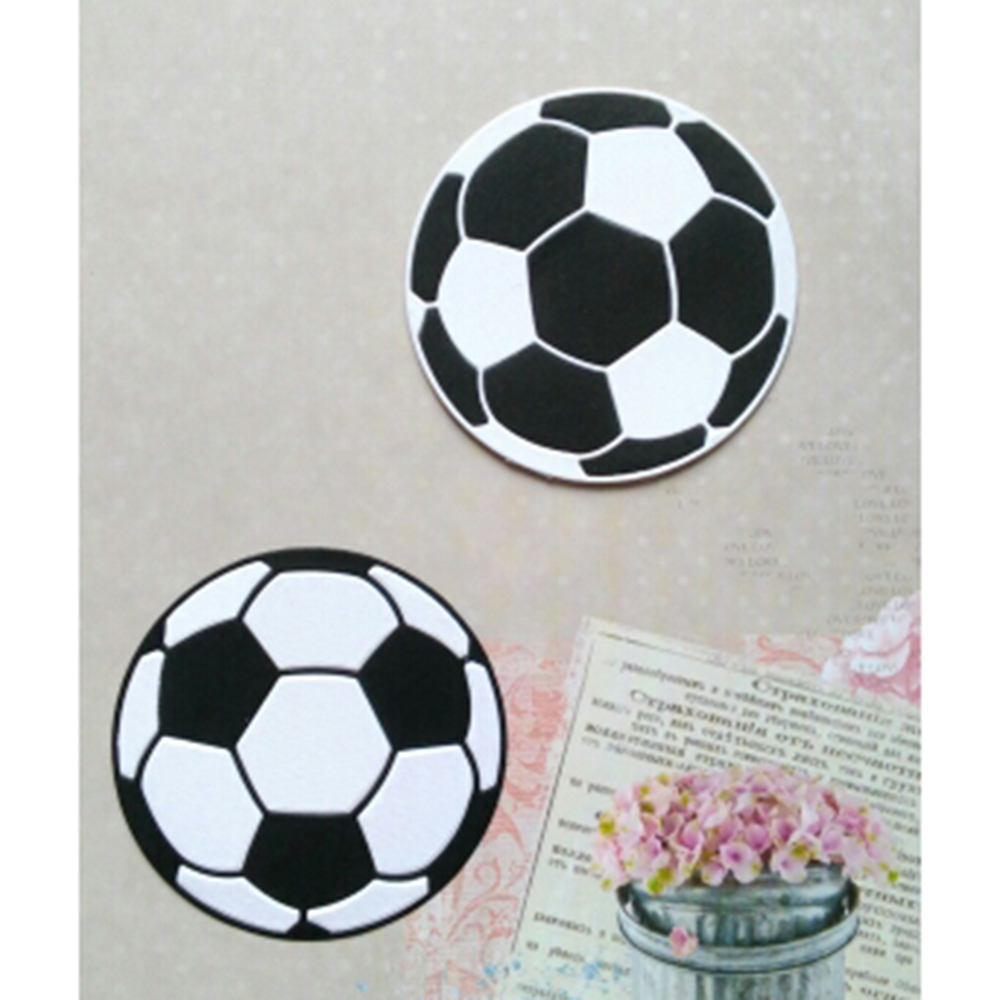 Soccer Football Metal Cutting Dies Stencils for DIY Scrapbooking New 2019 Craft Dies Metal Album Decor Embossing Cards fustelle image