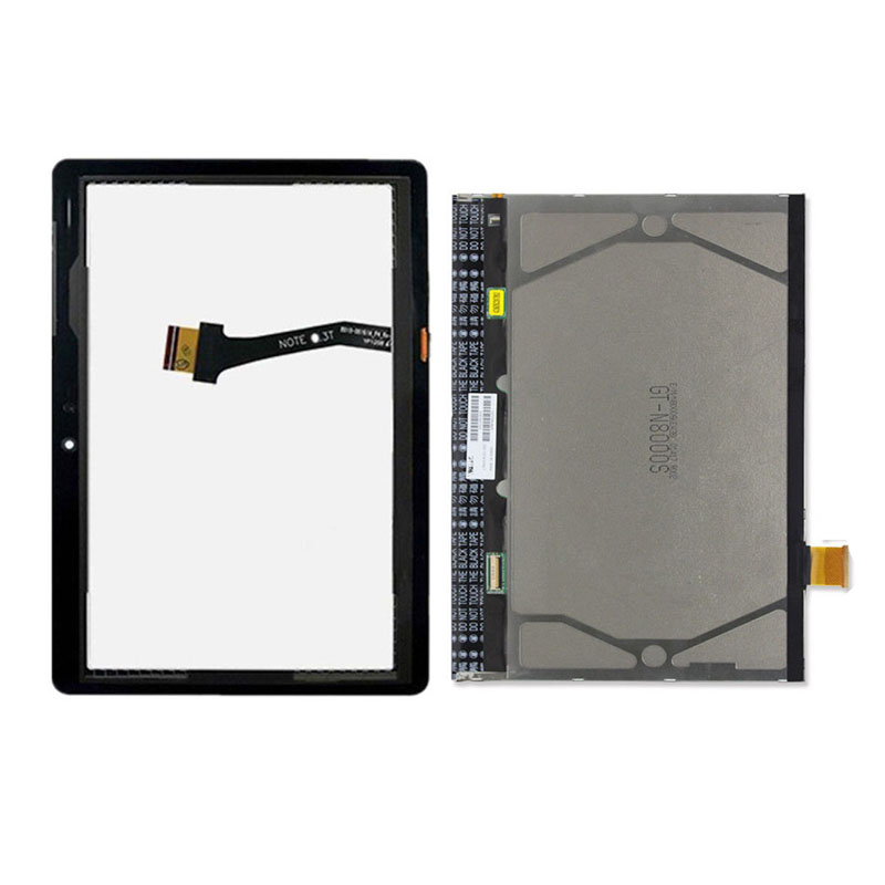 For Samsung Galaxy Tab 10.1 N8000 N8010 Black / White Touch Screen Sensor Digitizer Glass + LCD Display Screen Panel Monitor стоимость