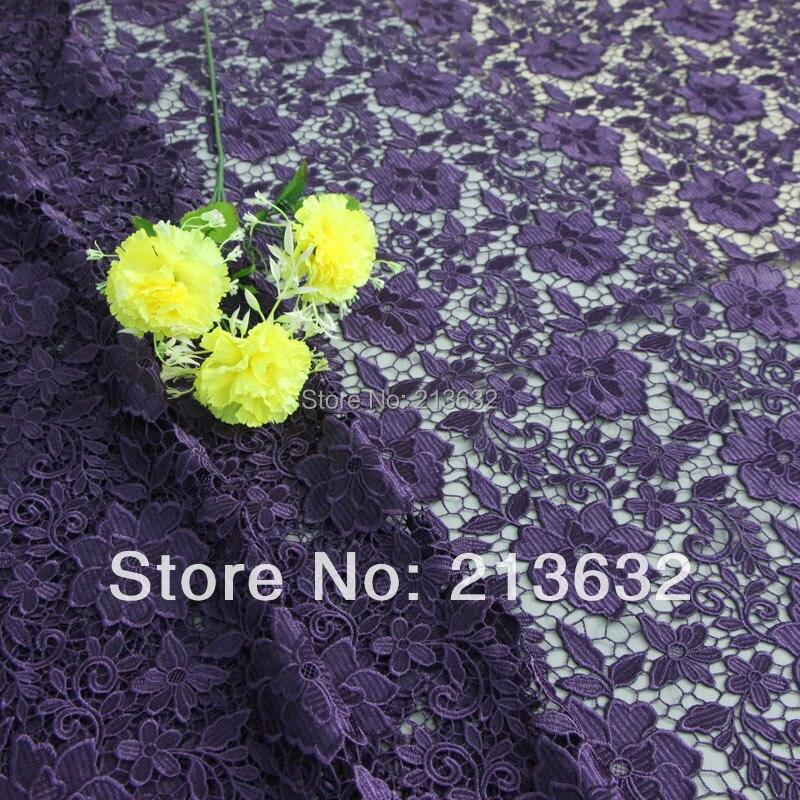 D po7 marque de haute qualité soluble dans l'eau brodé tissu ordinateur broderie dentelle soluble dans l'eau brodé avec commande de tissu