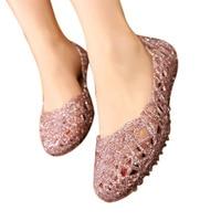 Women's Sandals 2018 New Summer Women Shoes Casual Jelly Tenis Feminino Mesh Flats Sandalias Femininas Fashion Women Sandals 3