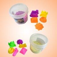 DIY Dynamic Sand Toys Molding Sand Clay Toy Magic Mars Indoor Children