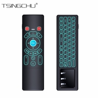 TSINGO Smart 2 4GHz Wireless T6 Fly Air Mouse T6 Remote Control Mini Keyboard And Touchpad