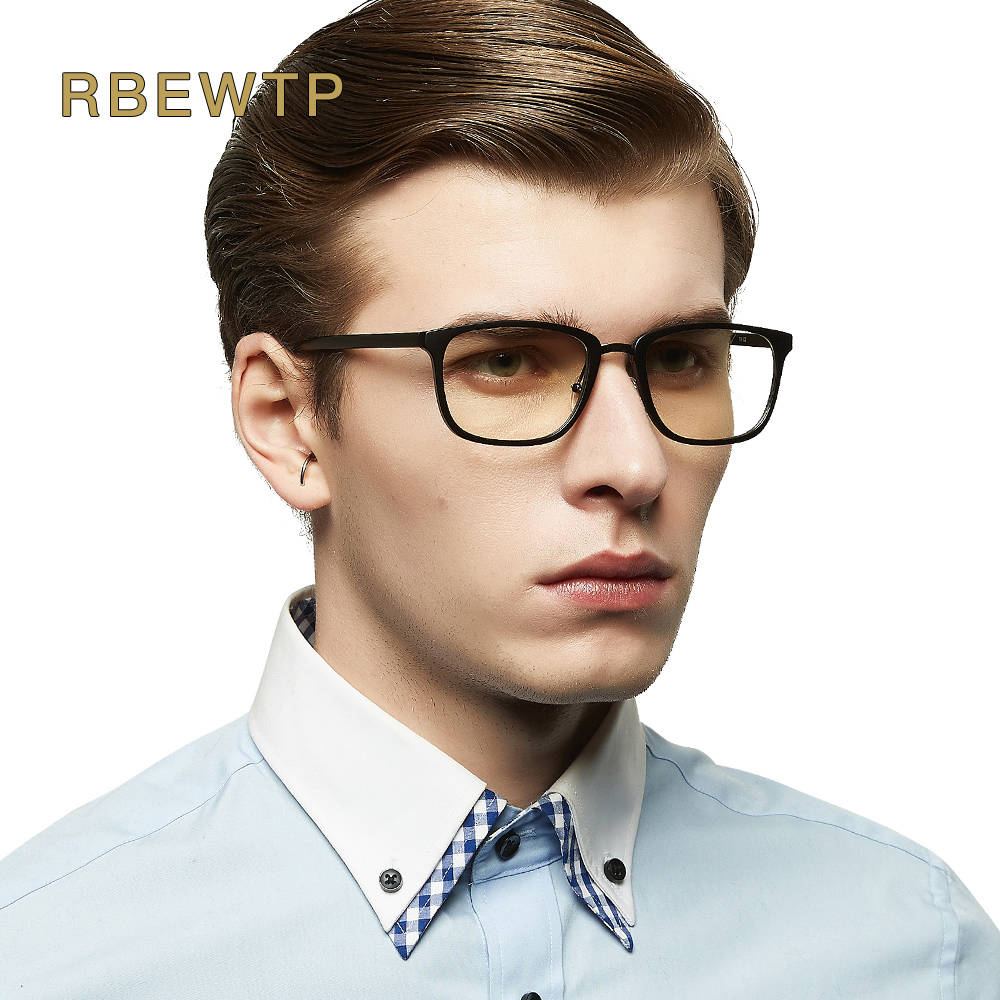 RBEWTP TR90 Frame Anti Blue light Goggles Reading Glasses Radiation-resistant clear Glasses Computer Gaming eyeglasses Eyewear