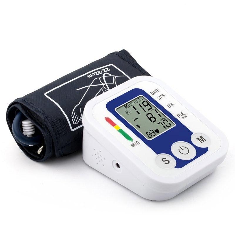 Arm Blood Pressure Pulse Monitor Health care Monitors Digital Upper Portable Blood Pressure Monitor Meters Hot Sale