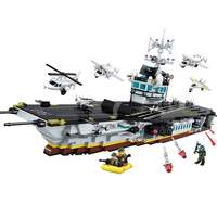 ENLIGHTEN Military War Tactical Espionage Boat Special Forces Figures Building Blocks Sets Bricks Kids Toys Compatible Legoings