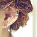 1pieces New vintage jewelry Fashion jewelry rhinestone constellation design ear cuff gift for women girl E3294