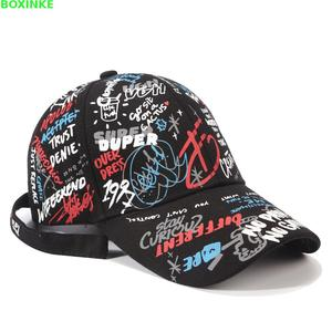 Image 2 - Pokemon Go Real Cotton Adult One Size Casual Dad Hat Gorras New For Graffiti Baseball Cap For Women In All Seasons Of 2019