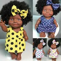 Lol boneca surpresa para meninas brinquedo de boneca de plástico para crianças bebe reborn menina corpo de silicone móvel conjunta bonecas africanas k418