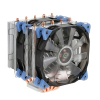 2017 VTG 5 Heatpipe Radiator 4pin CPU Cooler Fan Cooling 5 Direct Contact Heatpipes With 120mm