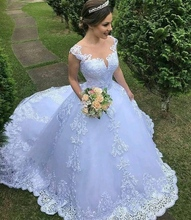 Lace Wedding Dress Short Sleeves Ball Gown Bridal Dress Wedding Gown Dresses For Bride Superbweddingdress