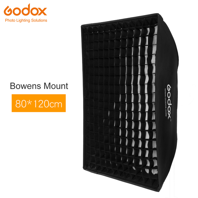 "Godox 32 ""X 47"" 80X120Cm Honingraat Softbox Softbox Met Bowens Mount Voor Studio strobe Flash Light"