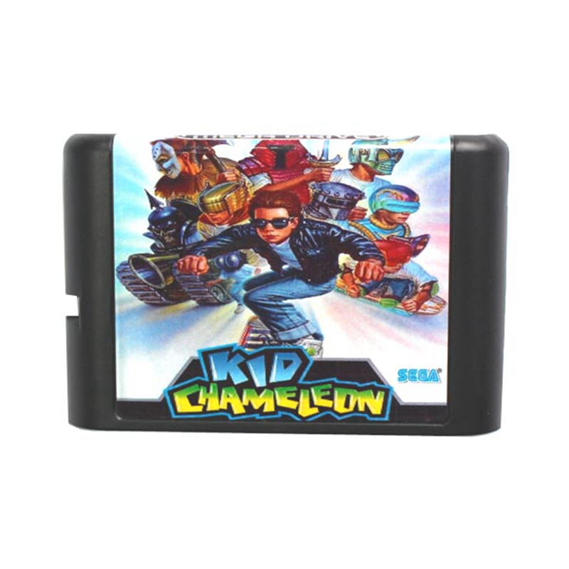 Kid Chameleon 16 bit MD Game Card For Sega Mega Drive For Genesis