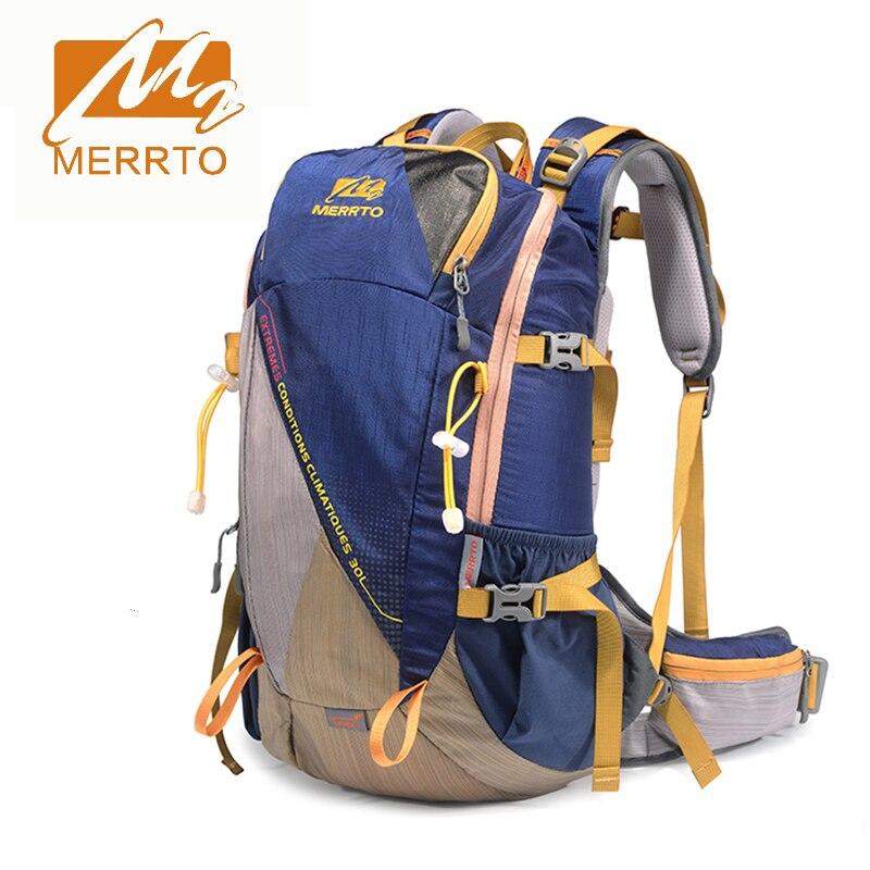 2017 Merrto Hiking font b Camping b font Sports Backpacks Waterproof Light Weight Men Women Bags