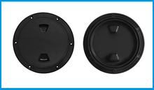 6 inch  Screw Out Inspection Deck Plate Hatch Marine bost yacht Detachable Cover RV Plastic