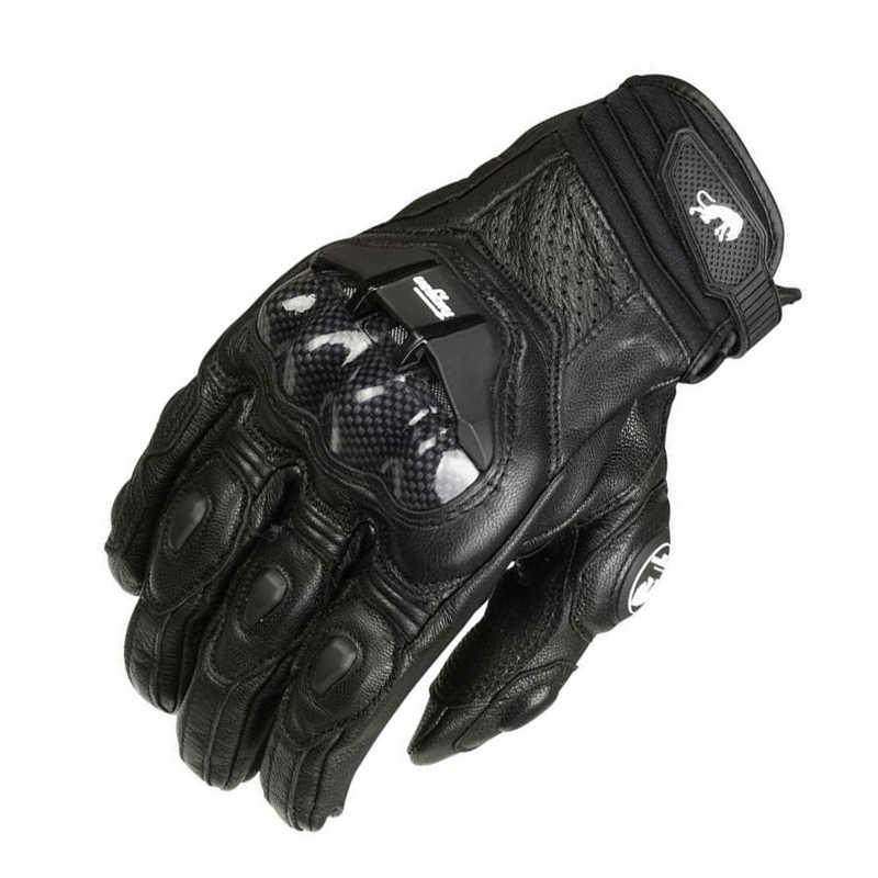 26cfcbf2fd5f9 ... Men's Leather Furygan AFS 6 Motorcycle Gloves Black Moto Racing Gloves  Bicycle Cycling Motorbike Riding Glove ...