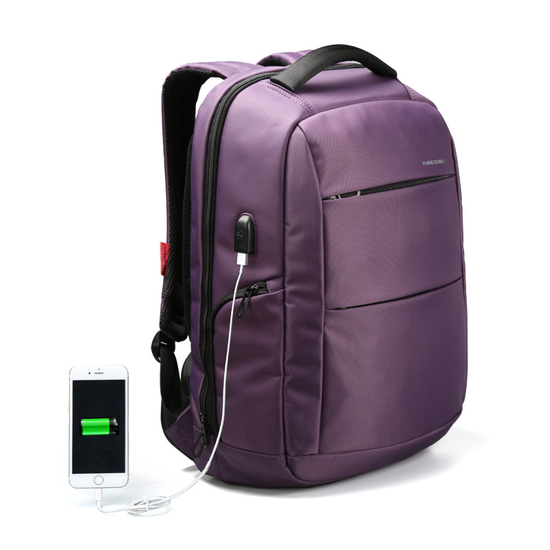 high quality fashion External Charging USB Function Laptop Backpack Anti-theft Man Business Dayback Women Travel  Bag 15.6 inch kingsons external charging usb function school backpack anti theft boy s girl s dayback women travel bag 15 6 inch 2017 new