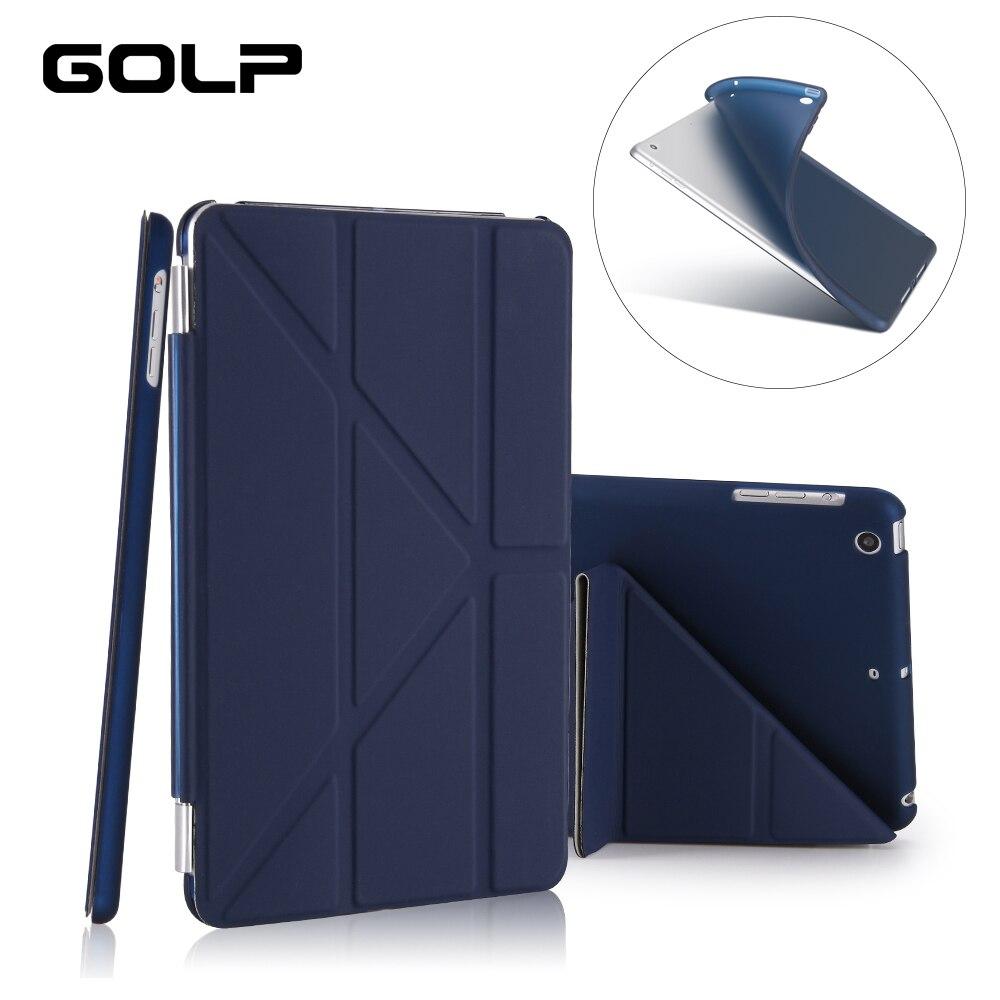 Fall für ipad Mini 2/Mini 3/Mini 1 Fall PU Leder Ultra Slim + Weiche TPU Zurück smart Cover für ipad Mini Fall