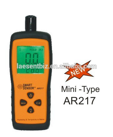 ФОТО New AR217 Mini Type Digital Humidity and Temperature Meter