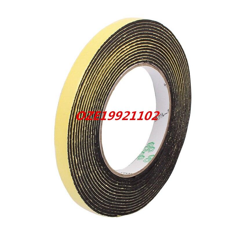 12 x 2mm Single Side Adhesive Shock Resistant Anti-noise Foam Tape 5M Long 5m length x 5mm x 0 5mm single side adhesive eva sponge foam tape yellow