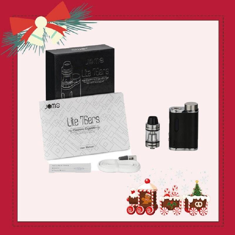 D'origine JOMOTECH 76 w 18650 Batterie E Cigarette Kit 0.5Ohm 2 ml Vaporisateur Électronique Cigarette Kits Lite 76 w Boîte mod jomo-254 257
