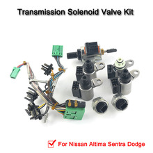 JF011E RE0F10A F1CJA Valve Body Solenoids For Nissan Altima Sentra Dodge 33510n 02 cvt jf011e re0f10a f1cja pump flow control valve