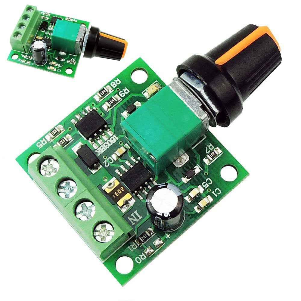 Mini DC Motor Speed Regulator controls 1 8v 3v 5v 6v 7 2v 12v 2A 30W DC  Motor Speed Controller PWM Adjustable Driver Switch