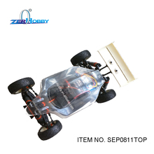 RC CAR TOYS 1/8 SCALE BUGGY ELECTRIC POWERED 4WD OFF ROAD BRUSHLESS MOTOR HIGH SPEED CLEAR BODYSHELL (ITEM NO. SEP0811TOP)