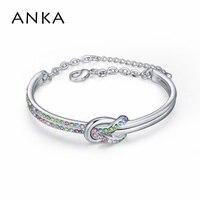New High Quality Made With Swarovski Elements Bracelets Bangles Jewelry Crystal Austria Wedding Lobster Clasp 113440