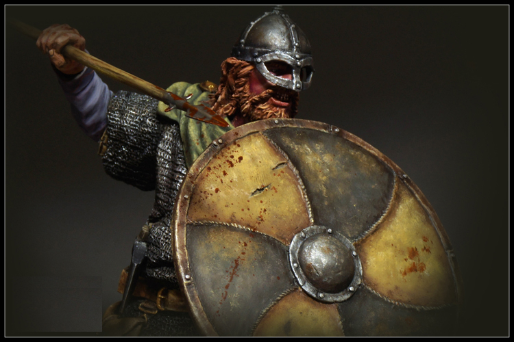 1/12  Resin Bust Model Kit Viking Warrior, 9th C. X0168