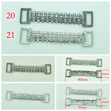 1 Pcs Crystal Rhinestone Connectors/ Buckle Zinc Alloy Chain For Swimming Wear/Bridal/dress/fur coats clothing Bikini Decoration