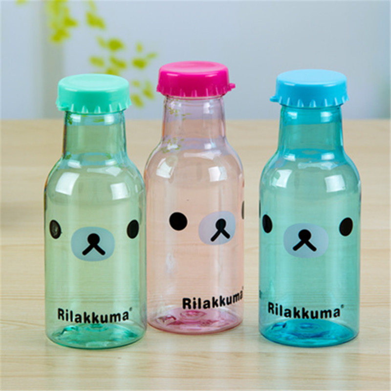 New 350ML Creative Foldable Drink Sports Water Bottle Camping Travel Plastic Outdoor Bottle