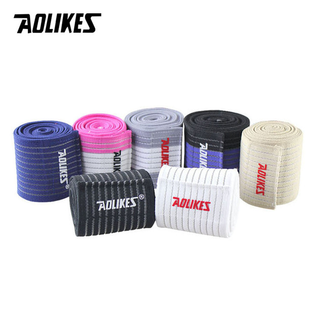 AOLIKES 1PCS Cotton Elastic Bandage Hand Sport Wristband Gym Support Wrist Brace Wrap carpal tunnel