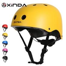 Xinda casco professionale da esterno protezione di sicurezza casco da campeggio esterno ed escursionismo casco da equitazione equipaggiamento protettivo per bambini