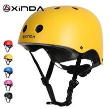 Xinda profissional outwardbound capacete de segurança proteger capacete ao ar livre acampamento & caminhadas equitação capacete criança equipamentos proteção