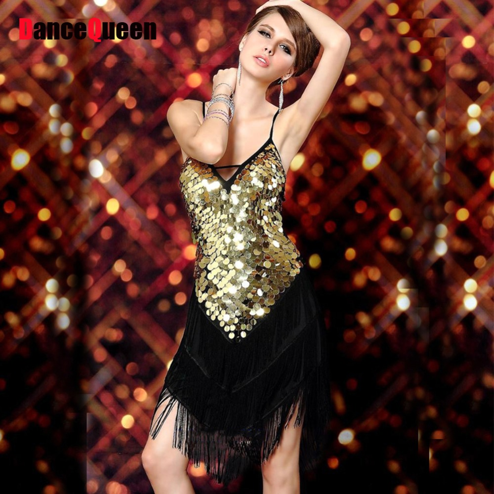 b8b6d322c1d0 Sexy Vintage Roaring 20s 1920s Gatsby Girl Ladies Flapper Dance Costumes  Dress Female Party City for Great Gatsby Party