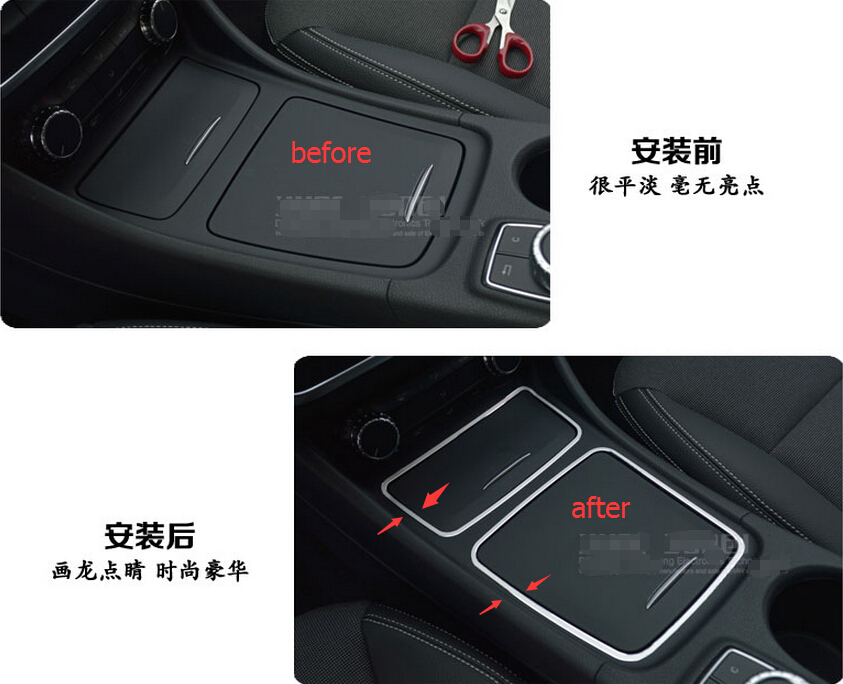 for Mercedes benz center console lid