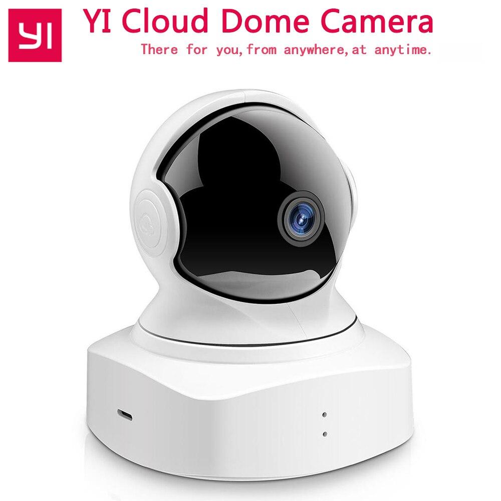 YI Nuage Dôme Caméra IP Baby Monitor Caméra 1080 p HD de Vision Nocturne Sans Fil Wifi Caméra Pan/Tilt/ zoom Intérieur Caméra De Sécurité À Domicile