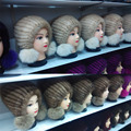 Besty Mujeres Real de Piel De Visón Invierno Sombrero de Otoño Invierno de Color Al Azar sombrero raya sombrero de punto gorros Calientes con piel de zorro de alta calidad