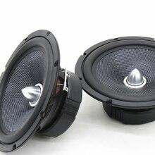 Ilouder 2 шт. 6.5 дюймов HiFi полный спектр акустических/алюминий автомобиль аудио Full динамики 8 Ом 4ohm широкополосные динамики громкоговоритель